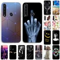 Funda de teléfono para Moto G6, G8 PLUS, E4, EE. UU. E., EU, Motorola Moto 1S, G9 Power, suave, silicona TPU, bonita, Gato pintado, cubierta trasera para Moto G 6