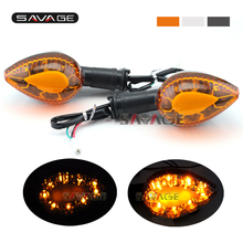 LED Turn Signal Indicator Light For YAMAHA FZ6 N/S/R FZ6R FZ1N FZ1 Fazer FZ8 XJ6 Diversion/F XJ6N Motorcycle Blinker Front/Rear f 16 y 688 bl cnc adjustable foldable motorcycle brake clutch levers for yamaha fz6 fz6r fazer fz8 fz1 xj6 f 16 y 688
