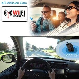 Image 4 - Jimi JC400P 4G cámara para salpicadero de coche 1080P con transmisión de vídeo en vivo seguimiento GPS monitoreo remoto cámara grabadora DVR de coche a través de la aplicación PC