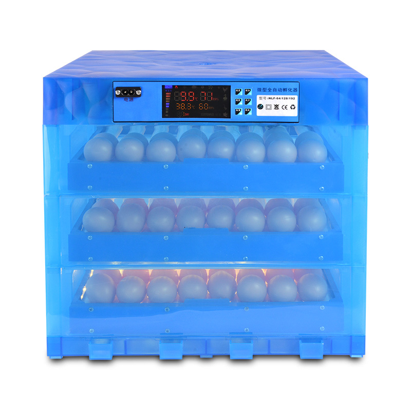 Fully Automatic Chicken Duck Eggs Incubator China With Multi-function Roller Egg Tray 12V/220V Couveuse Incubadora