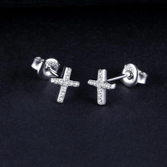 Cross Stud Earrings