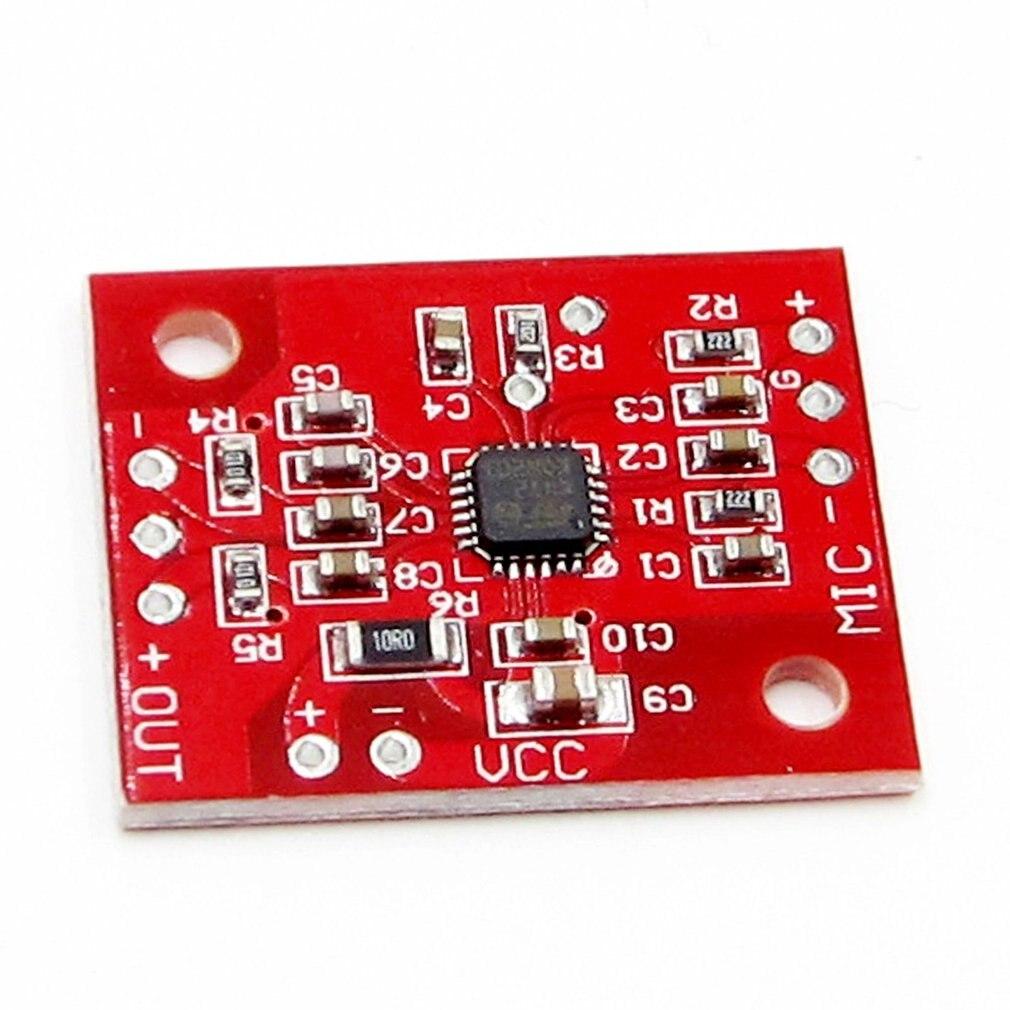 1PCS K472 Low Noise Electret Microphones Amplifier Board NEW