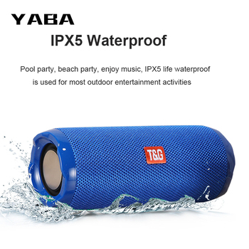 YABA Bluetooth Speakers tws Subwoofer Portable IPX5 Waterproof Outdoor-Sports 5.0 Music Play Column