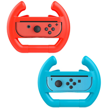 2PCS Nintend Switch ABS Steering Wheel Handle Stand Holder Left Right Joy-Con Joycon For Nintend Switch NS NX Controller Wheels