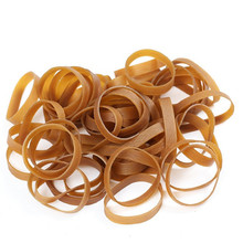 50*10mm Rubber Bands Elastic Bands Stationery Holder Package Supplies Rubber Rings for School Home or Office