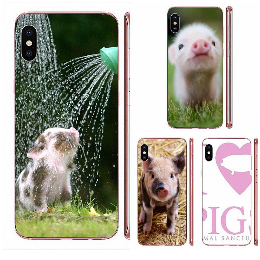 Bonito cerdo para Xiaomi Redmi Note 8 8A 8T 10 K30 5G Pro para Motorola G G2 G3 G4 G5 G6 G7 Plus suave TPU móvil