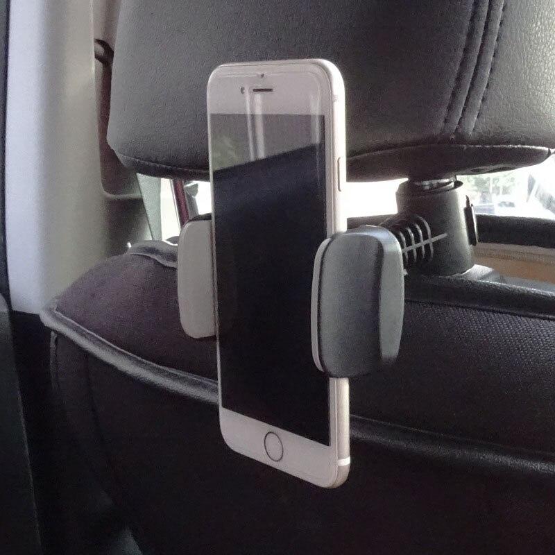 Car Lazy Bracket Mobile Phone Bracket Holder 360 Degree Rotating Join Car Back Seat Headrest Support Bracket Car Accessories