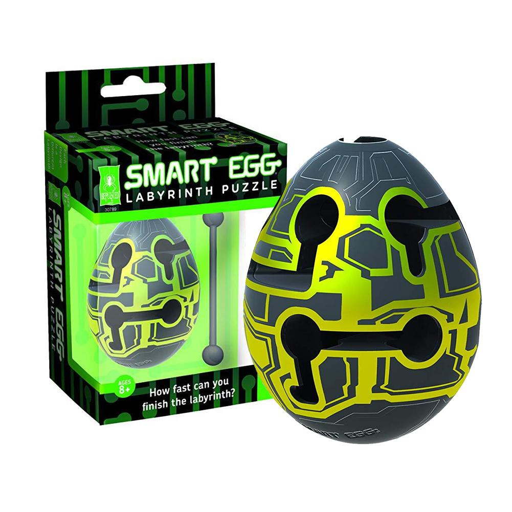 2019 New Colorful Smart Egg Labyrinth Puzzle Maze For Kids Children's Puzzle Maze Ball Toy