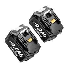 Набор сменных литиевых батарей Bonacell 18 в 9000 мАч BL1830 для дрели Makita LXT400 194205 3 194309 1 BL1815 BL1840 BL1850 L30