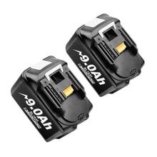 Bonacell 18V 9000mAh BL1830 Lithium Batterie Pack Ersatz für Makita Bohrer LXT400 194205 3 194309 1 BL1815 BL1840 BL1850 L30
