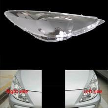 Voor Peugeot 307 08 13 Front Koplampen Transparante Lampenkappen Lamp Shell Maskers Koplampen Cover Lens Koplamp Glas