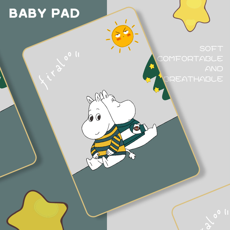 Cute Baby Mattress Changing Mat Newborn Kids Diaper Waterproof Infant Bedding Cover Soft Girls Boy Nappy Urine Pad Breathable