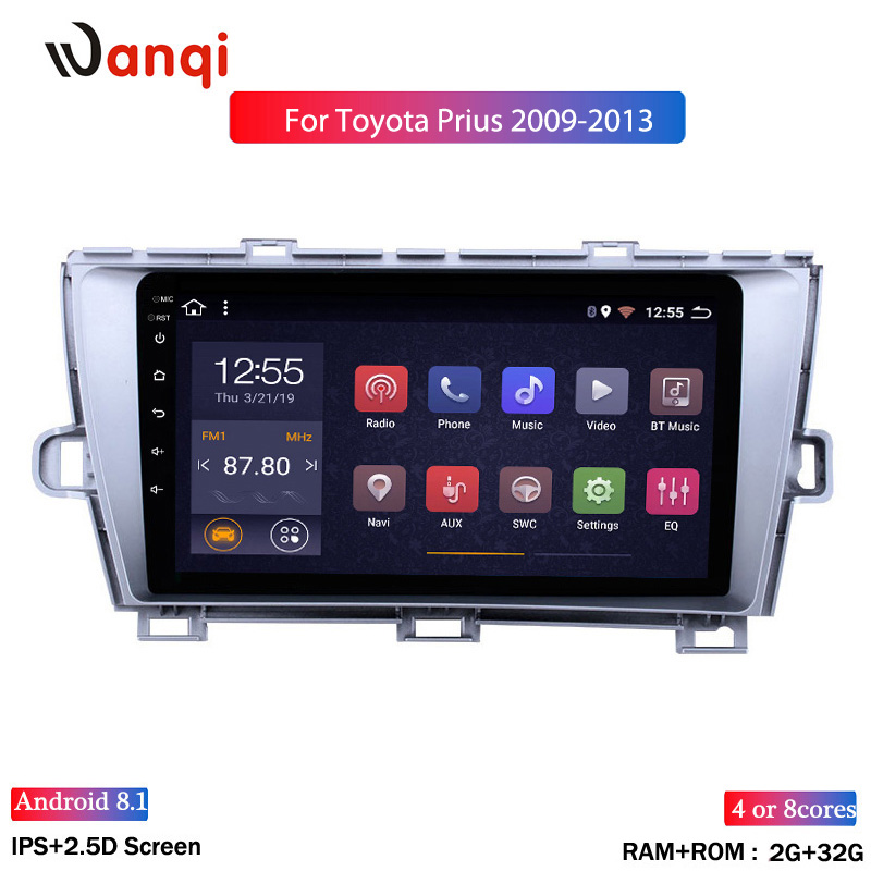 TOUCH SCREEN for CAMRY PRIUS NAVIGATION 2009 2010 2011 2012 2013 2014 LQ070T5GC01 LCD DISPLAY
