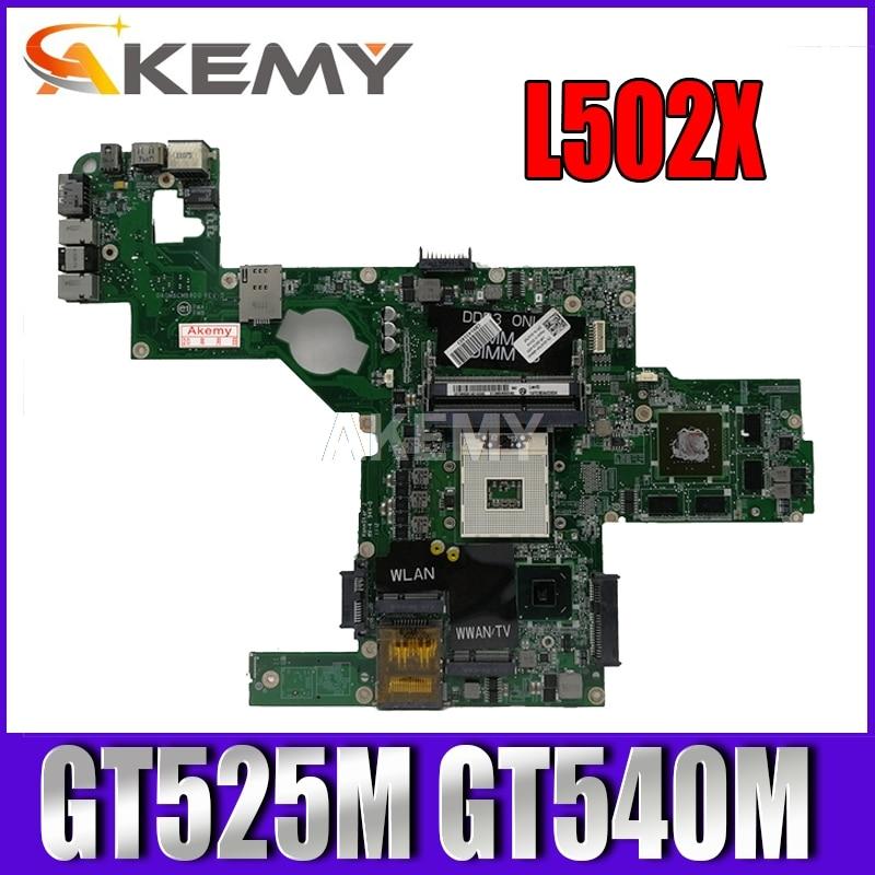 Материнская плата C47NF 0C47NF для ноутбука Dell XPS L502X, материнская плата GT525M GT540M DAGM6CMB8D0, 100% оригинальная
