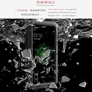 Image 5 - Чехол для телефона LOVE MEI для OPPO R9s Plus Armor спортивный Открытый Алюминиевый металлический жесткий защитный чехол для OPPO R9 Plus из закаленного стекла