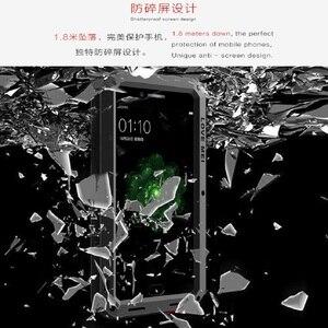 Image 5 - LOVE MEI Ốp Lưng điện thoại OPPO R9s Plus Giáp Thể Thao Ngoài Trời Nhôm Kim Loại Bảo Vệ Cứng dành cho OPPO R9 Plus kính cường lực