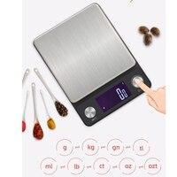 높은 정밀도 부엌 가늠자 0.1G 다기능 굽기 전자 가늠자 디지털 방식으로 부엌 스테인리스 가늠자 요리 공구