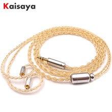 3.5/2.5/4.4mm equilibrado atualizado personalizar headphon fone de ouvido cabo prata esterlina banhado fio linha fone de ouvido alta fidelidade se846 t1117