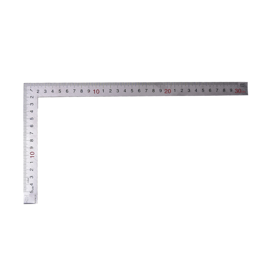 15x30cm 90 Degree High Impact Engineers Combination Square Protractor Adjustable