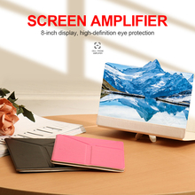 Projector Magnifier Screen-Enlarger Glass-Phone-Stand Smartphone-Accessories for 8inch