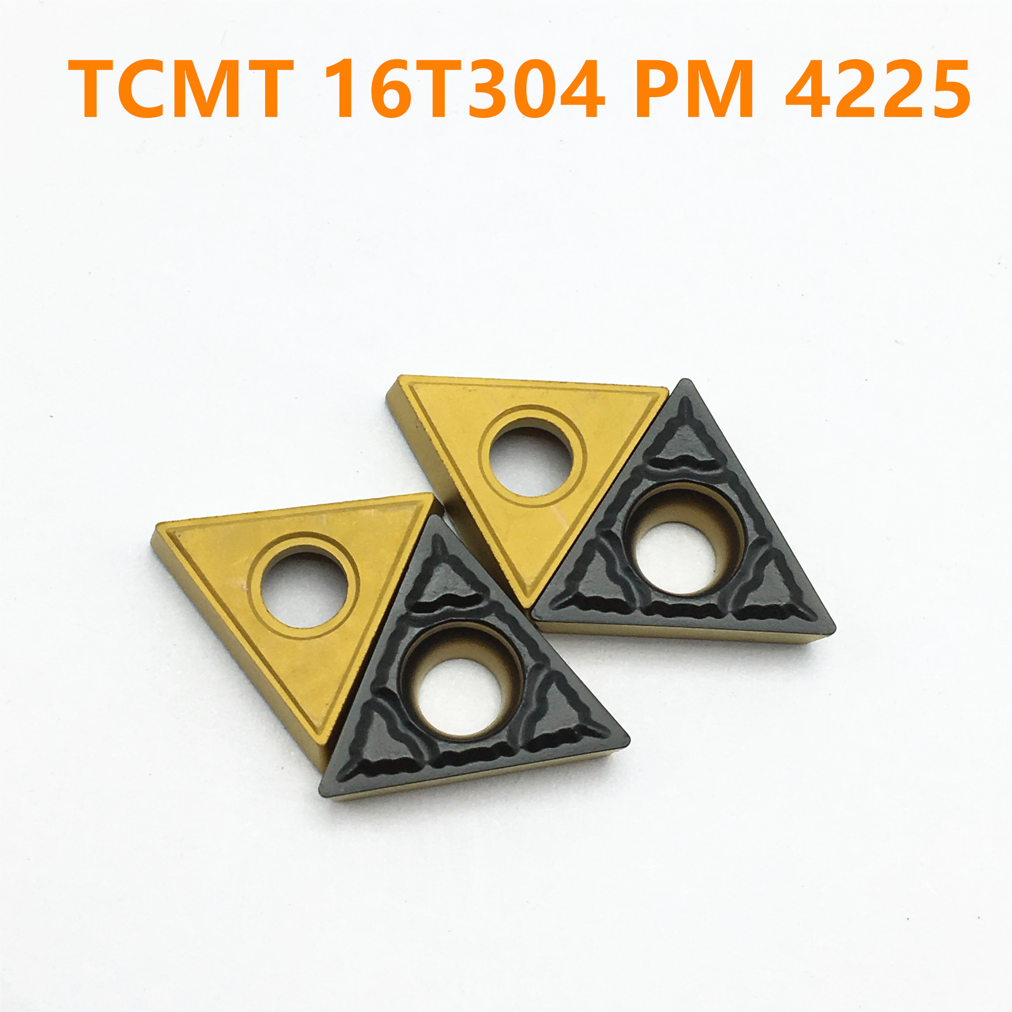 10pcs TCMT16T304 Carbide Inserts For Indexable Boring Bar Turning Tool Holder