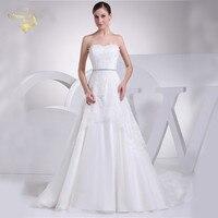 Jeanne Love New Perfect Wedding Dresses 2019 Casamento Bridal Gown Tulle Robe De Mariage Vestido De Novia JLOV75916 Belt