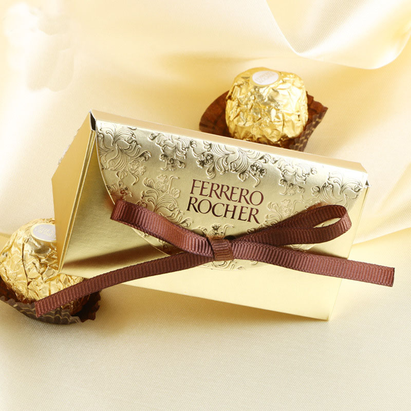 New Ferrero Rocher Boxes Wedding Favors And Gifts Box Baby Shower Paper Candy Box  Wedding Decoration Sweet Gifts Bags Supplies