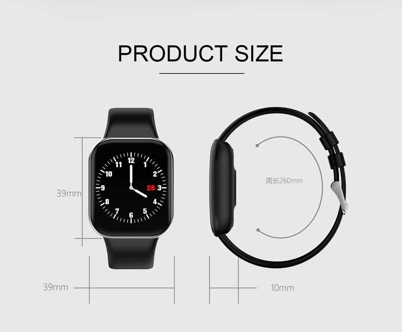 KSUN KS58 pulsera inteligente banda con Monitor de ritmo cardíaco 15