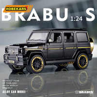 Diecast Brabus G65 1:24 Model Toy Car Metal Alloy Simulation Pull Back Cars Toys Vehicles For Kids Gifts For Children