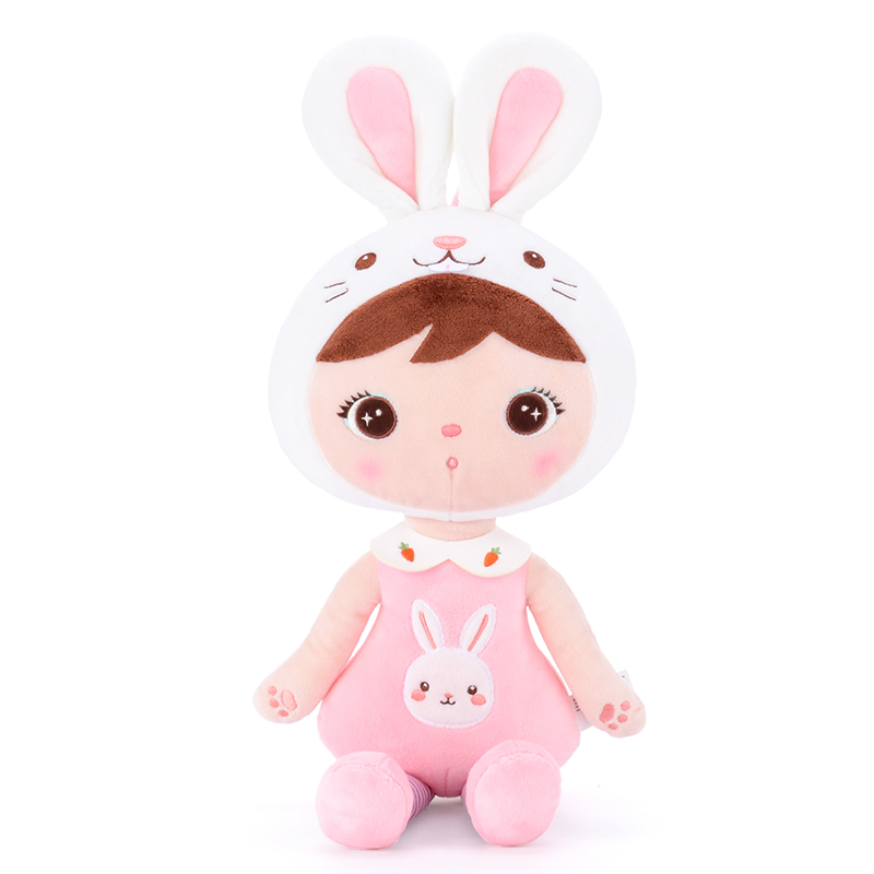 MeToo X Gloveleya Plush Toys Stuffed Animals Dolls Cute Kepple For Children Toy Birthday Christmas Girl Gifts Kids Pink Rabbit