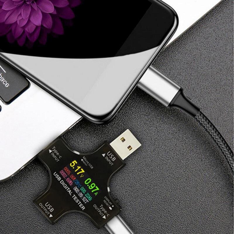USB Volt Amperage Digital Voltage Measuring Instrument Voltage Meter High-quality Professional Tester