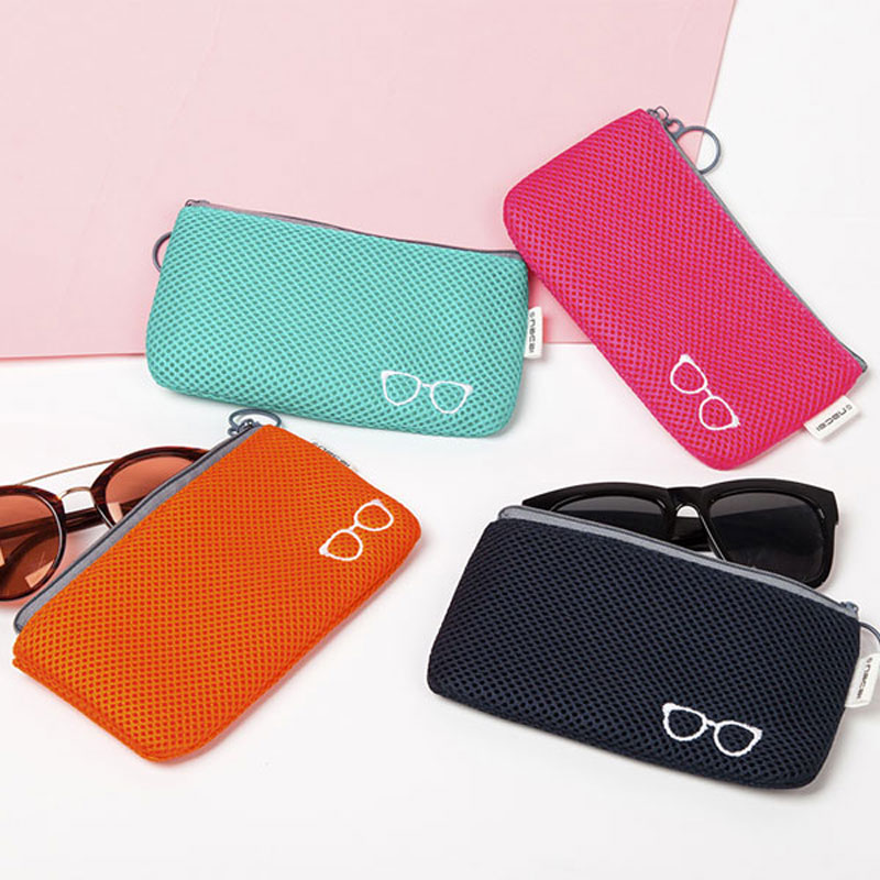 Portable Sunglasses Pouch For Sunglasses Soft Cloth Dust Pouch Optical Glasses Carry Bag Durable Waterproof Pouches Accessories