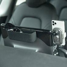 Auto Mobiele Telefoon Houder Draadloze Opladen Opslag Bril Telefoon Beugel Interieur Modificatie Voor Tesla Model 3 Auto Accessoires
