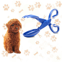 Pet Pooper Long Handle Dog Clip Scissors Picker Poop Collector Tongs Toilet Cat Stool Shovel Pick Up Cleaning Supplies