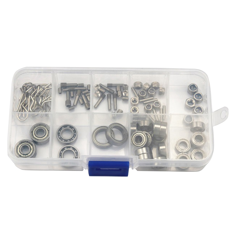 For AXIAL SCX10II Jeep AX90046 90047 Climbing Car Bearing Pack Vulnerable Accessories Package