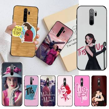 CUTEWANAN The Marvelous Mrs Maisel Soft Phone Case Cover for Redmi Note 9 8 8T 8A 7 6 6A Go Pro Max Redmi 9 K20 image