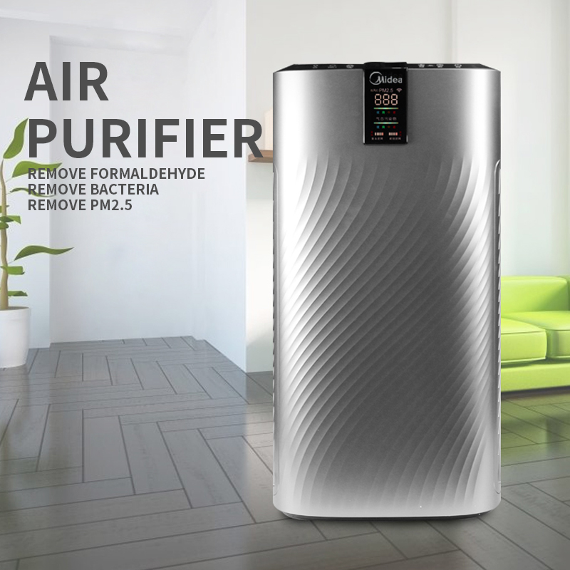 Household Air Purifiers Machine Formaldehyde Removal Haze Bacteria PM2.5 Remove Smoke Dust Bedroom Air Purifiers Machine 220V