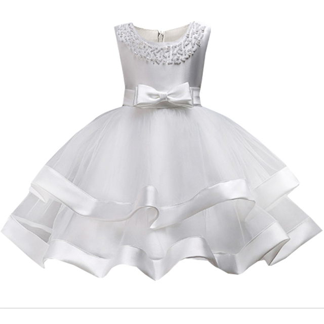 Baby Girls Party Dress 2019 Elegant Girl Evening Dress For Wedding Birthday Kids Dresses For 2 to 10 yeas Girls Clothes