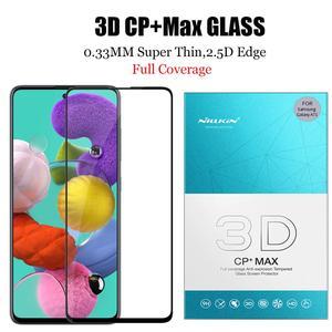 Image 2 - Nillkin זכוכית לסמסונג גלקסי A51 A71 זכוכית מסך מגן 9H 3D מלא כיסוי בטיחות מזג זכוכית לסמסונג a51 A71