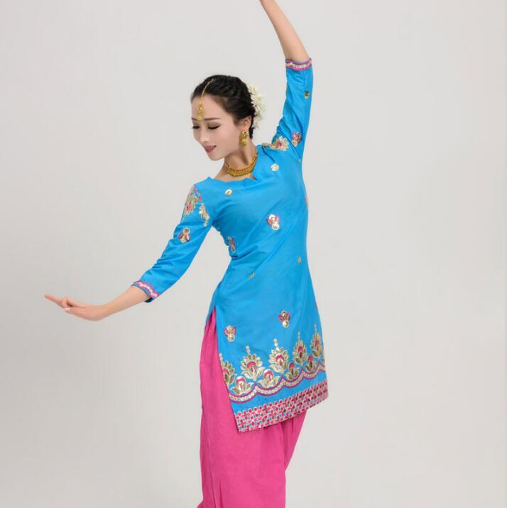 Cotton India Coat Punjabi Traditional Woman Kurtas Saree Yoga Dress Katak Top