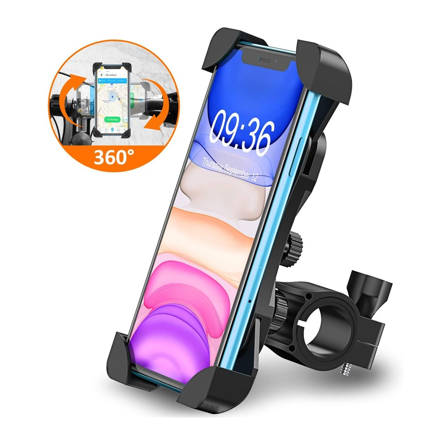 Bicycle Phone Holder For IPhone For Samsung Motorcycle Mobile Cellphone Holder Bike Handlebar Clip Stand GPS Mount Bracket