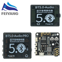 Mini Bluetooth 5,0 Decoder Board Audio Empfänger BT 5,0 PRO MP3 Verlustfreie Player Wireless Stereo Musik Verstärker Modul Mit Fall