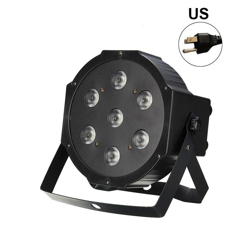 LED Par Lights  DJ LED RGBW Par Lights RGB Wash Disco Light DMX Controller Effect For Small Paty KTV Stage Lighting EU/US Plug|Stage Lighting Effect| |  - title=