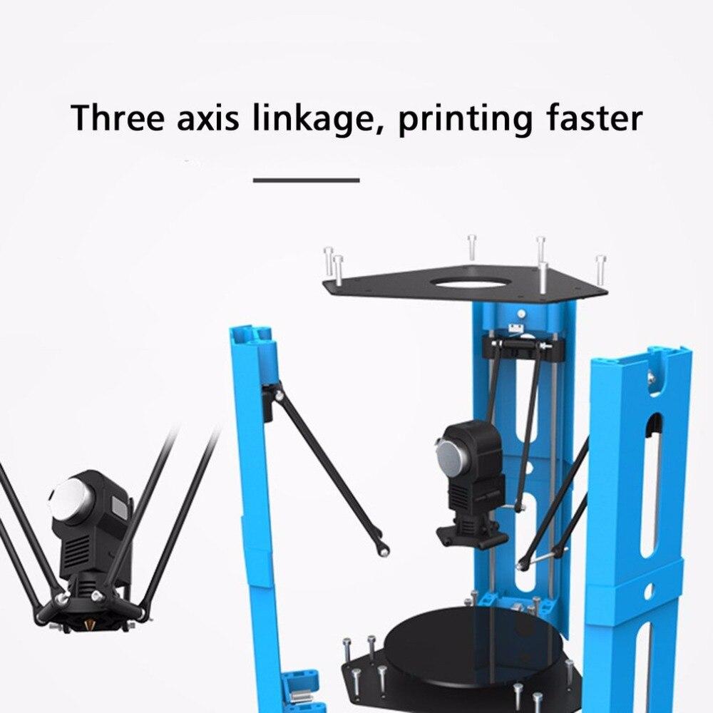 101HERO Protable 3D Printer Mini 1.75mm 0.4mm Nozzle Filament Metal Desk 3D Printer DIY Kit DV Versions Drop Shipping  (9)