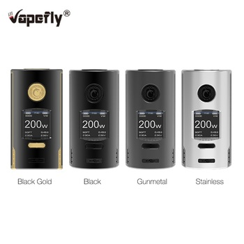 Original Vapefly Kriemhild Box Mod with 1.33 inch Max 200W Fit Box Vape VS Gen Mod