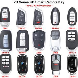 Keyecu Универсальный ZB01 ZB02-3 ZB02-4 ZB03 ZB04 ZB05 ZB06 ZB10 ZB22 ZB26 ZB28 KEYDIY KD умный дистанционный ключ для KD-X2 генератор ключей
