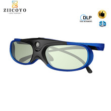 ZIICOYO 3D Active Shutter Glasses DLP LINK 3D glasses for Xgimi Z4X/H1/Z5 Optoma Sharp LG Acer H5360 Jmgo BenQ w1070 Projectors