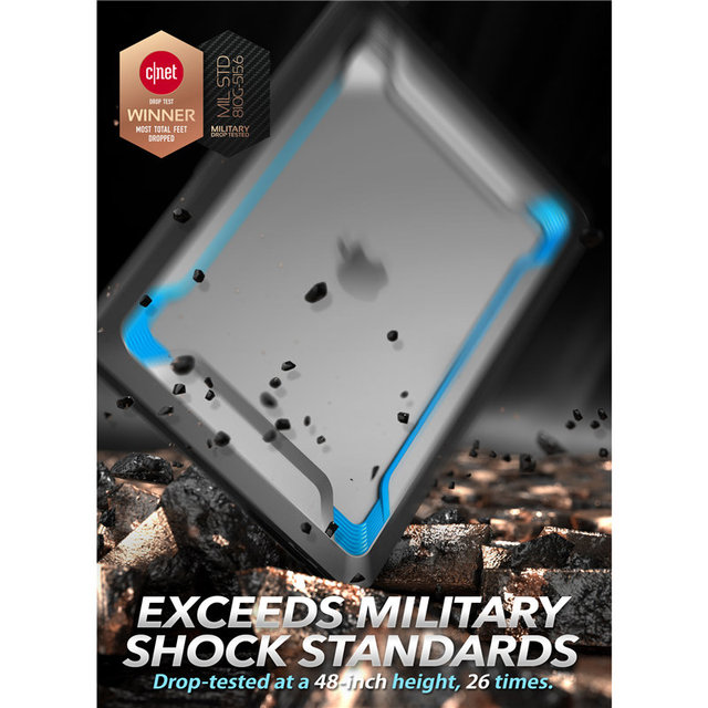 I-BLASON For MacBook Pro 16 Case (2019) Rugged Shockproof Cover with TPU Bumper For MacBook Pro 16″ with Touch Bar & Touch ID