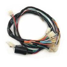Motorccle חלקי חשמל חיווט לרתום חוט מלא רכב כבל קו לסוזוקי AX100 AX 100