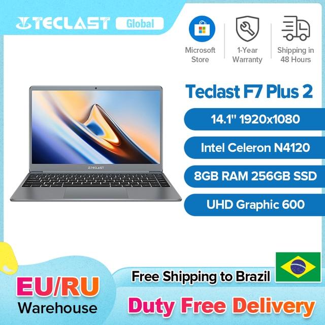Teclast F7 Plus 2 14.1 Inch Laptop 8GB RAM 256GB SSD Windows 10 Intel Celeron N4120 Intel UHD Graphics 600 Mini-HDMI Notebook 1